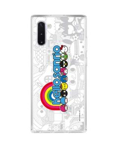 Hello Sanrio Galaxy Note 10 Clear Case