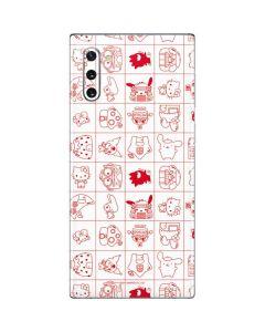 Hello Sanrio Outline Galaxy Note 10 Skin