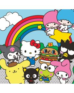 Hello Sanrio Crew Playstation 3 & PS3 Slim Skin