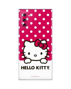 HK Pink Polka Dots Galaxy Note 10 Skin