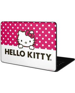 HK Pink Polka Dots Google Pixelbook Go Skin