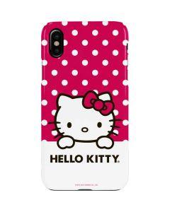 HK Pink Polka Dots iPhone XS Max Lite Case