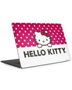HK Pink Polka Dots Apple MacBook Pro 15-inch Skin