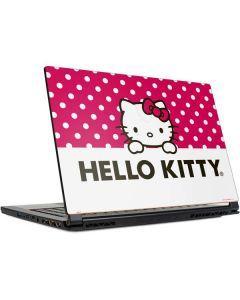 HK Pink Polka Dots MSI GS65 Stealth Laptop Skin
