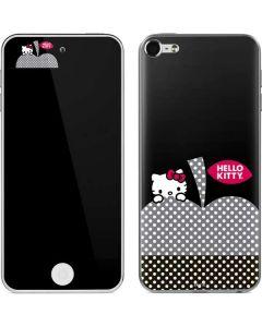 HK Polka Dot Apple Apple iPod Skin