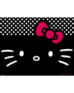 Hello Kitty Black Satellite L775 Skin
