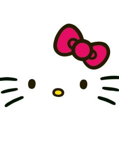 Hello Kitty White Galaxy S5 Skin