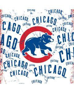 Chicago Cubs - White Cap Logo Blast Generic Laptop Skin