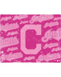 Cleveland Indians - Pink Cap Logo Blast Apple TV Skin
