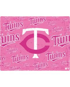 Minnesota Twins - Pink Cap Logo Blast Apple TV Skin