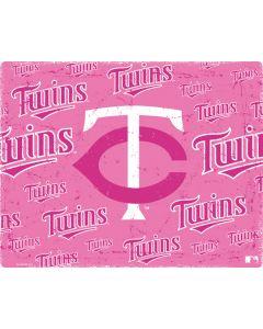 Minnesota Twins - Pink Cap Logo Blast HP Pavilion Skin