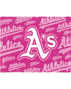 Oakland Athletics - Pink Cap Logo Blast Apple TV Skin