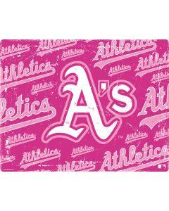 Oakland Athletics - Pink Cap Logo Blast HP Pavilion Skin