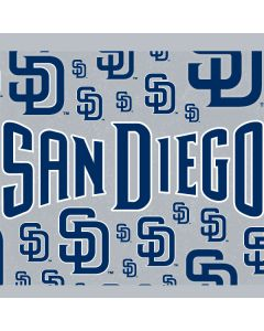 San Diego Padres - Blue Primary Logo Blast Apple TV Skin
