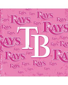 Tampa Bay Rays - Pink Cap Logo Blast PS4 Slim Bundle Skin