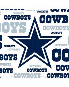 Dallas Cowboys Blue Blast Generic Laptop Skin