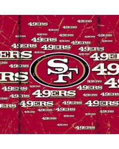 San Francisco 49ers Blast Xbox One X Controller Skin
