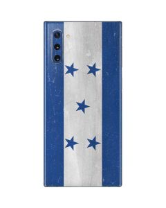 Honduras Flag Distressed Galaxy Note 10 Skin