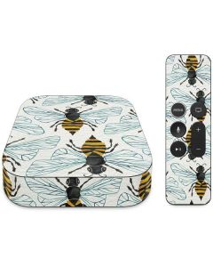 Honey Bee Apple TV Skin