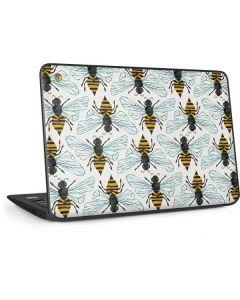 Honey Bee HP Chromebook Skin