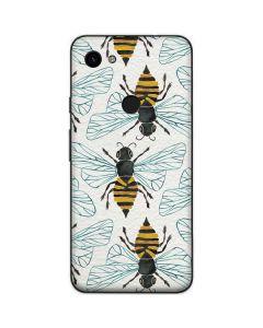 Honey Bee Google Pixel 3a Skin