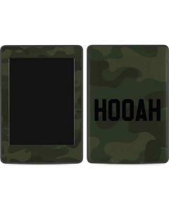 Hooah Amazon Kindle Skin