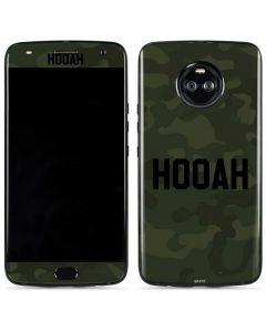 Hooah Moto X4 Skin