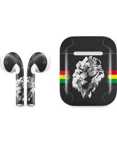 Horizontal Banner - Lion of Judah Apple AirPods Skin