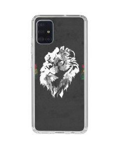 Horizontal Banner - Lion of Judah Galaxy A51 Clear Case