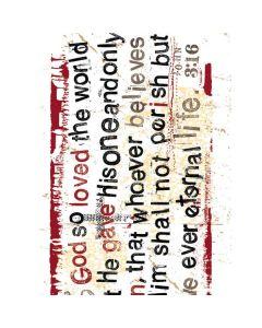 John 3:16 Generic Laptop Skin
