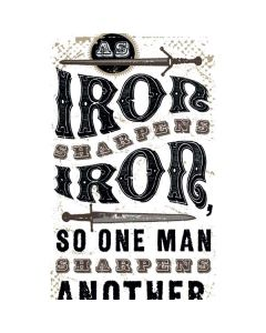 Iron Sharpens Iron LifeProof Nuud iPhone Skin
