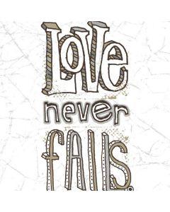 Love Never Fails Galaxy Book Keyboard Folio 12in Skin