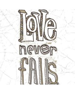 Love Never Fails Generic Laptop Skin