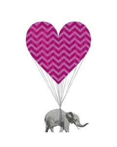 Love Elephant Generic Laptop Skin