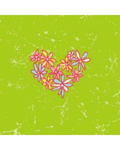 Daisy Heart Galaxy Book Keyboard Folio 12in Skin