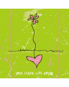 Love.Learn.Live.Grow iPhone 6/6s Plus Skin