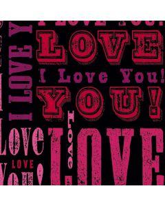 I Love You! Galaxy Book Keyboard Folio 12in Skin