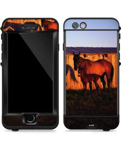 Horses at Sunset In Montana LifeProof Nuud iPhone Skin