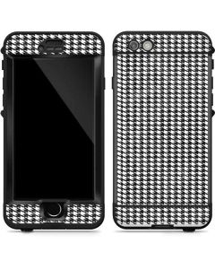 Houndstooth Black/White LifeProof Nuud iPhone Skin