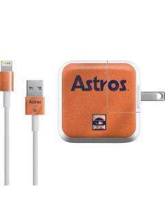 Houston Astros - Cooperstown Distressed iPad Charger (10W USB) Skin