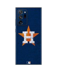 Houston Astros Alternate Distressed Galaxy Note20 Ultra 5G Skin