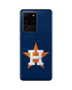 Houston Astros Alternate Distressed Galaxy S20 Ultra 5G Skin