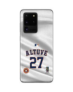 Houston Astros Altuve #27 Galaxy S20 Ultra 5G Skin