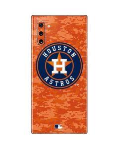 Houston Astros Digi Camo Galaxy Note 10 Skin
