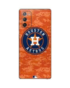 Houston Astros Digi Camo Galaxy Note20 5G Skin