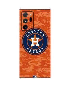Houston Astros Digi Camo Galaxy Note20 Ultra 5G Skin