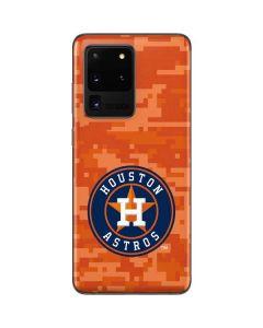 Houston Astros Digi Camo Galaxy S20 Ultra 5G Skin
