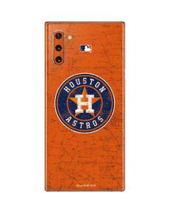 Houston Astros Distressed Galaxy Note 10 Skin