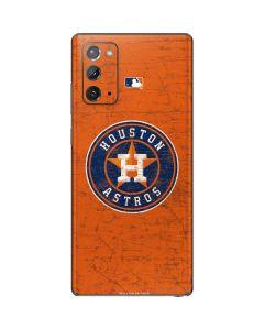 Houston Astros Distressed Galaxy Note20 5G Skin