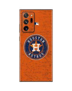 Houston Astros Distressed Galaxy Note20 Ultra 5G Skin